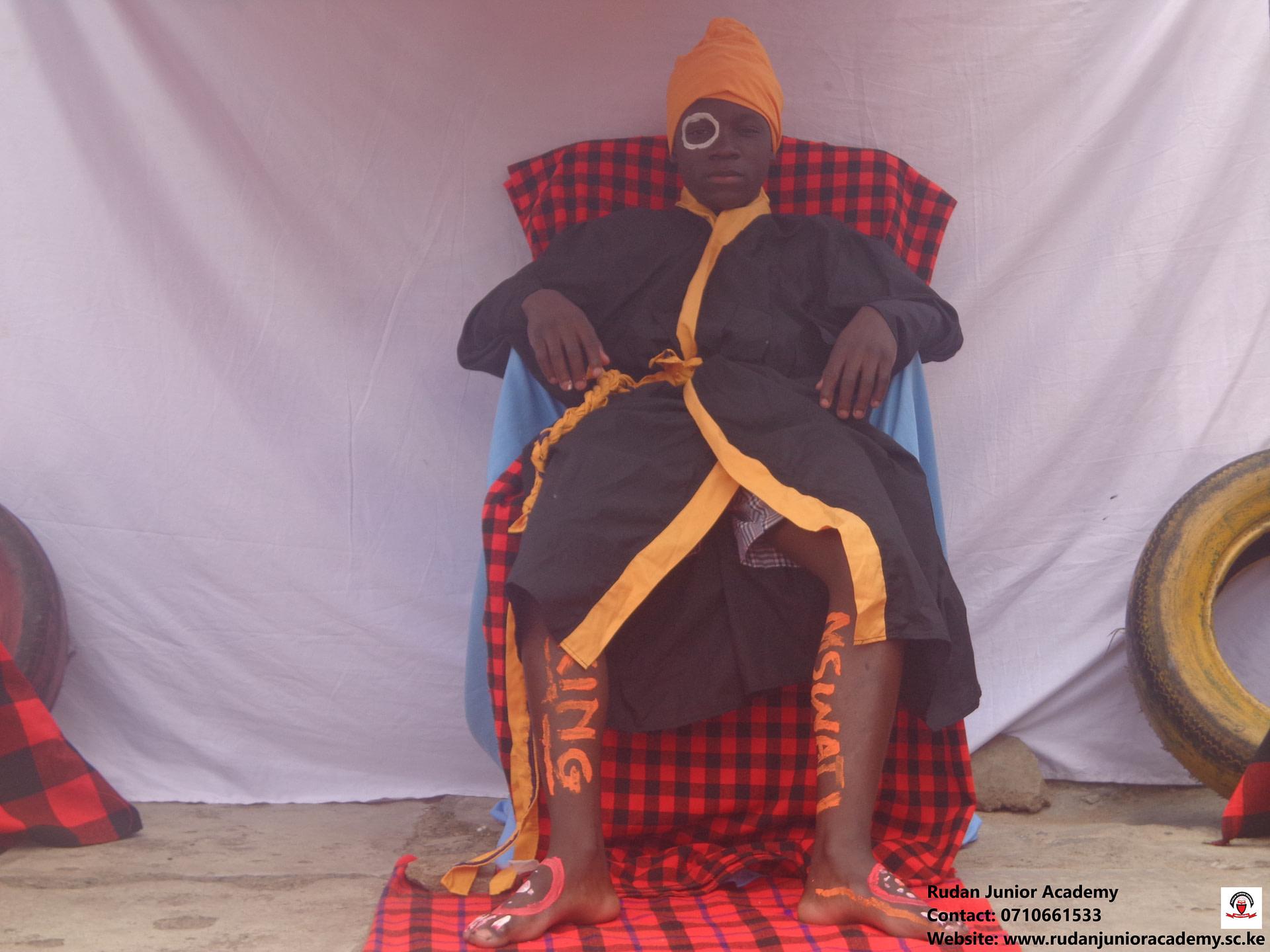 Rudan Junior Academy Drama play (King Mswati)